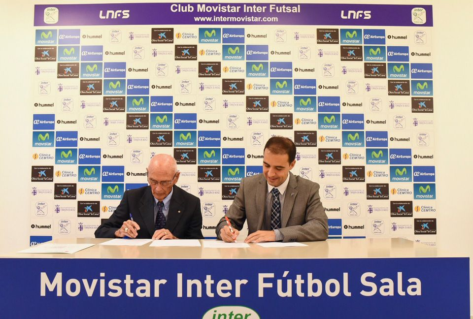 firma del acuerdo movistar iinter cruz roja