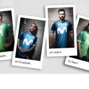 Movistar Inter FS presenta las espectaculares equipaciones oficiales de juego diseñadas por Joma para la temporada 2018-19