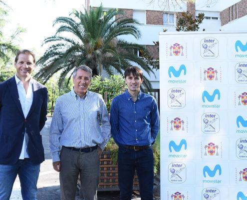 Luis Amado, Enrique Garrido y César Muñoz