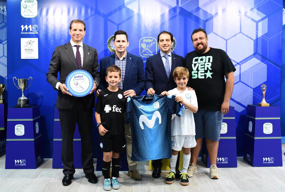 CD Vedruna Mirasierra renueva como 'Escuela Inter' en Madrid