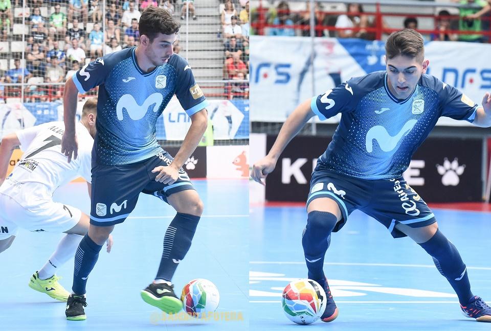 Iván Moreno y Álvaro Torres
