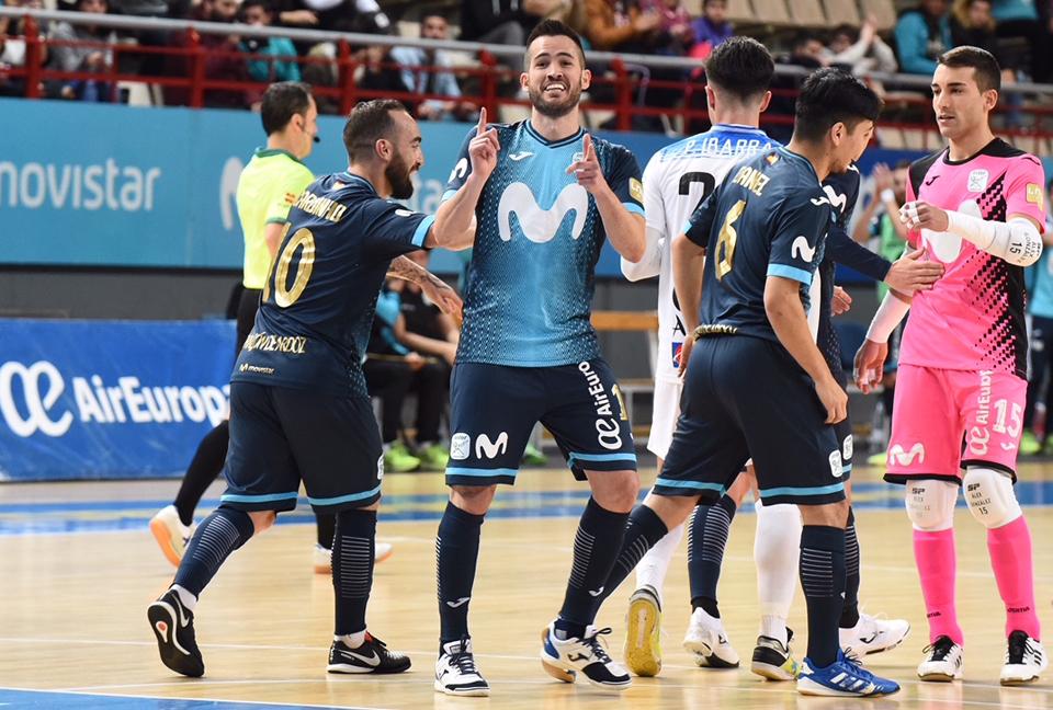c51398ae48b Movistar Inter FS, semifinalista de la Copa del Rey tras derrotar a BeSoccer  CD UMA Antquera (9-1) - MOVISTAR INTER